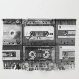 Something Nostalgic - black and white #decor #buyart #society6 Wall Hanging