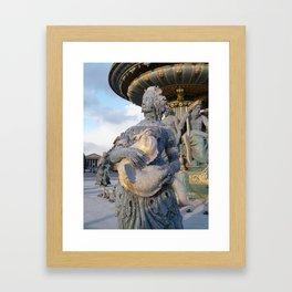 Place de la Concorde II Framed Art Print