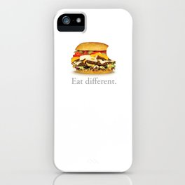 Eat Different. II iPhone Case