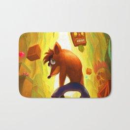 Crash Bandicoot Poster Bath Mat