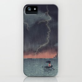 Trump and Climate Change iPhone Case