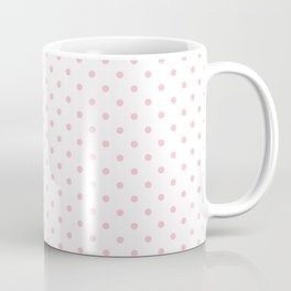 Dots (Pink/White) Coffee Mug