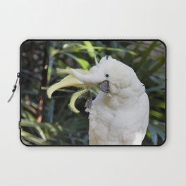 Sulfur-Crested Cockatoo Salutes the Photographer Laptop Sleeve