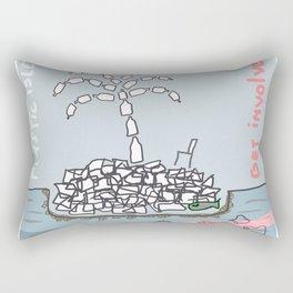 Plastic Isle Rectangular Pillow