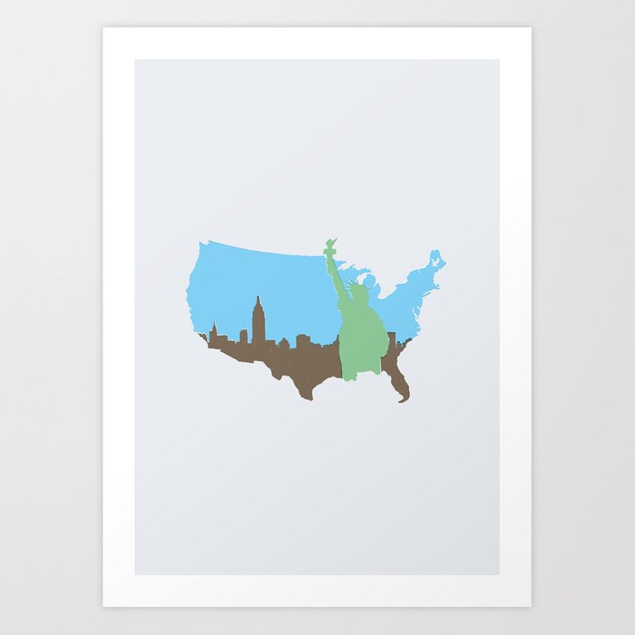 New York City - United States Art Print
