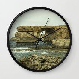 Azure Window Wall Clock