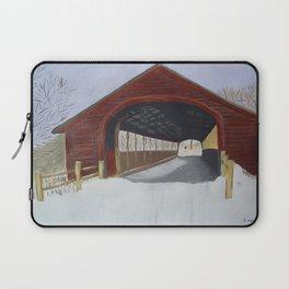Covered bridge Laptop Sleeve