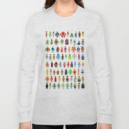 Pixel Heroes Long Sleeve T-shirt