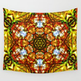 Mandala Of Joy Wall Tapestry