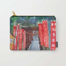 Shinto shrine entrance Carry-All Pouch