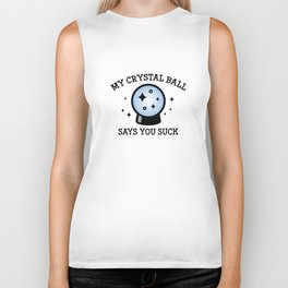 My Crystal Ball Biker Tank