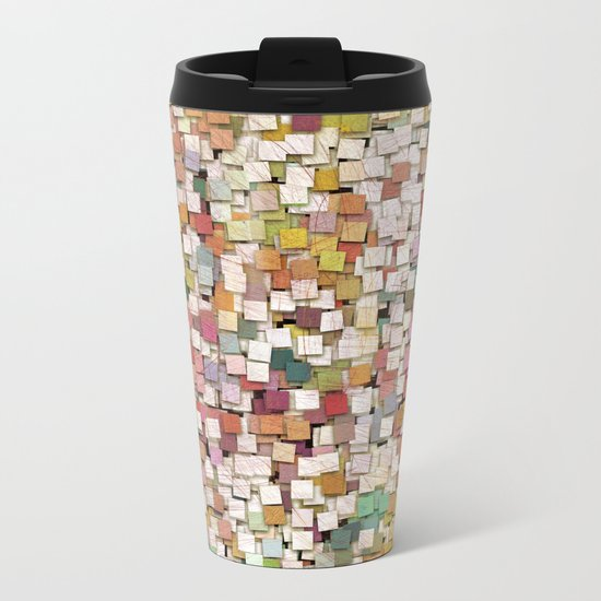 Aztec Vintage Pattern 10 Metal Travel Mug