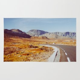 Road Tripping in Scandinavia - Jotunheimen NP on Sunny Fall Day Rug