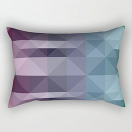 Tribal-ish Triangle Pattern Rectangular Pillow