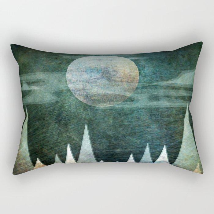 Mystery Moon Rectangular Pillow