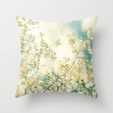 Clusters in the Sky Throw Pillow