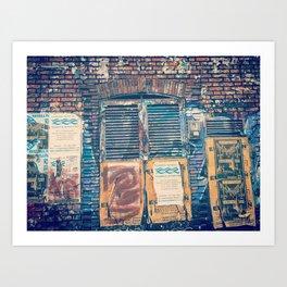 Bogota by day Art Print