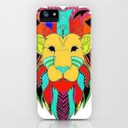Let the jungle speak iPhone Case