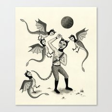 Wings and Talons Canvas Print