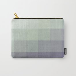 Mosaic Dusk and Moss Carry-All Pouch