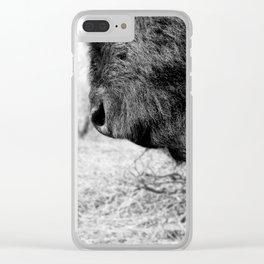 Buffalo Beard Clear iPhone Case