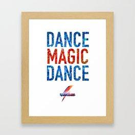 Bowie Ball: Dance Magic Dance Framed Art Print