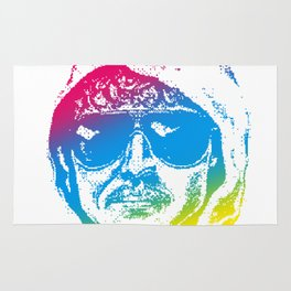 Colorful Unabomber Rug