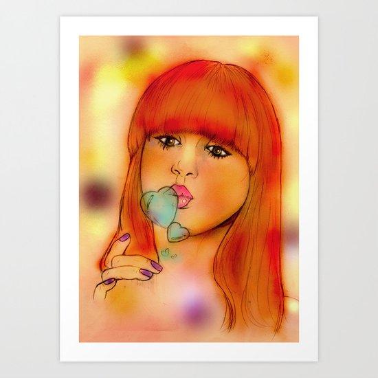 """Kazza"" Art Print"