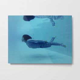 Study about insomnia Metal Print