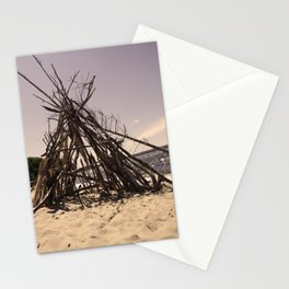 Beach Homes Stationery Cards