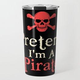 Pretended Pirate Travel Mug