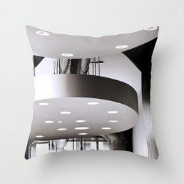 Ceiling Light Throw Pillow