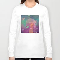 mermaid Long Sleeve T-shirts featuring Mermaid by Graphic Tabby