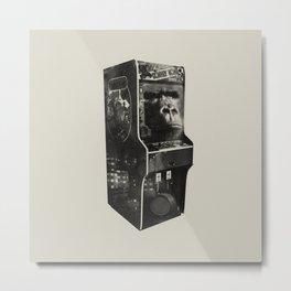 DONKEY KONG ARCADE MACHINE Metal Print