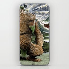 The Earth Golem iPhone Skin