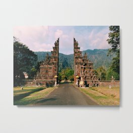 gates Metal Print