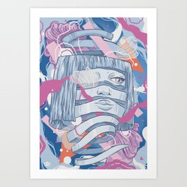 Shredded  consequence Art Print