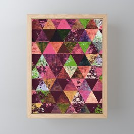 Abstract #936 Framed Mini Art Print