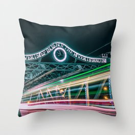 Queen Street East Throw Pillow