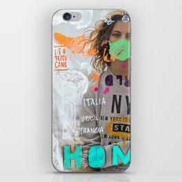 S T A Y   H O M E  iPhone Skin