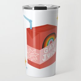 Gay Juice! inspired by The L Word Travel Mug