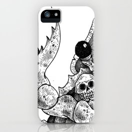 HELL'S ZODIAC - CANCER iPhone Case