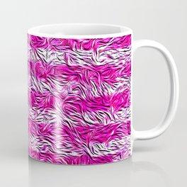 American Flag Mosaic With Trees Coffee Mug