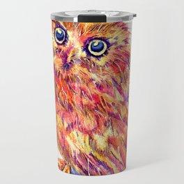 Caffeinated Owl Travel Mug