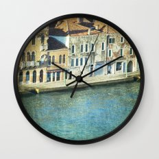The Waters - Venice Wall Clock
