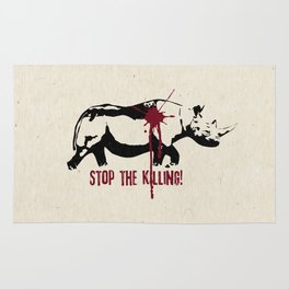 Stop the Killing! Rug