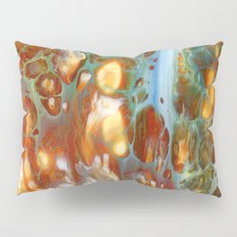 Amber River Lava Lace Flow Pillow Sham