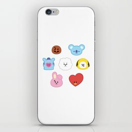 BTS BT21 iPhone Skin