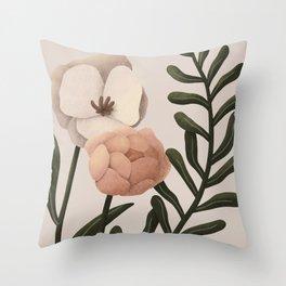 Kiali - Floral Composition Throw Pillow