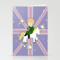 hetalia Stationery Cards featuring FaeriEngland by gohe1090